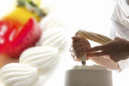 Cake making image compositing