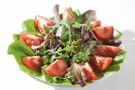 ensalada de verduras: Ensalada