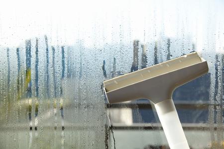 condensacion: Windows de cristal tiene la condensación