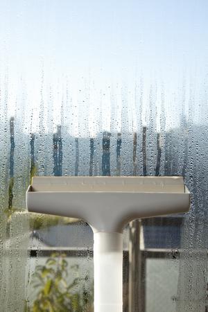 condensation: Windows de cristal tiene la condensación