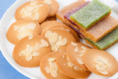 fruit jelly: Rangudosha and fruit jelly pie
