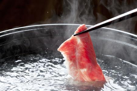 Beef shabu-shabu
