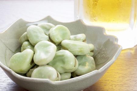 familiy: Fava bean Stock Photo