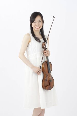 Woman with a violin