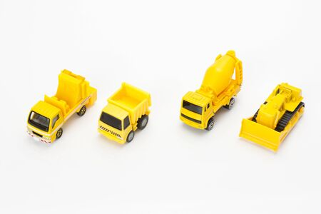 Model of work vehicles