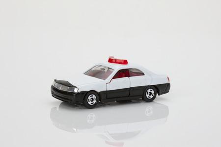 patrol car: Model of patrol car