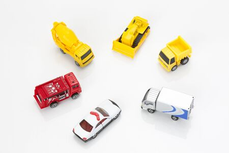 accident fire truck: Model of car