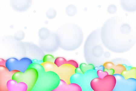 na: Colorful heart