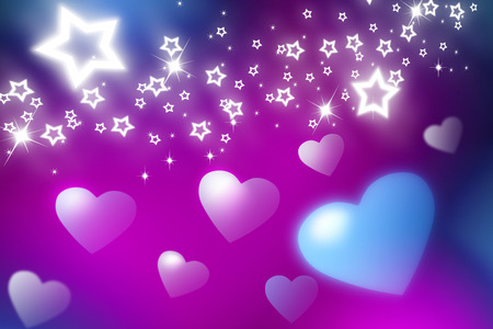 liking: Heart and stars