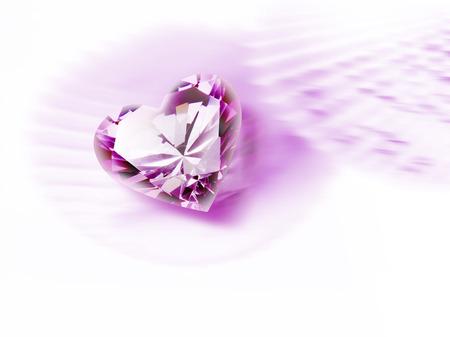 coeur diamant: Diamond coeur