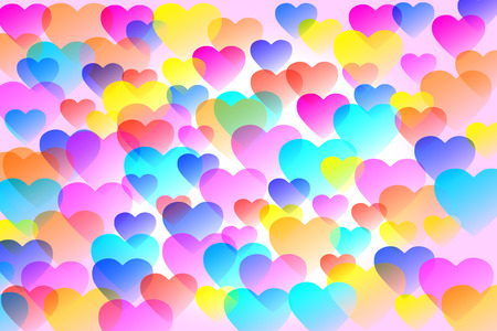 favour: Colorful heart