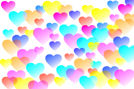 plural: Colorful heart
