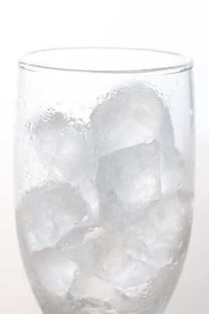 contains: Glass that contains the ice