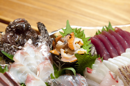 caballo bebe: Sashimi plato