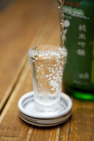 sho: Cold sake