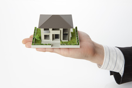 two storey house: Housing Stock Photo