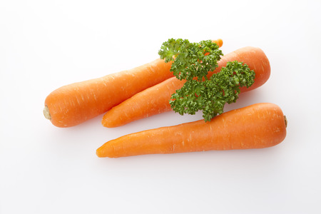chlorophyll: Carrots and parsley