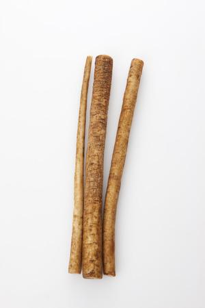 salubrious: Burdock root Stock Photo
