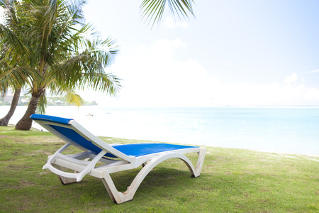reclining chair: Deck chairs and beach