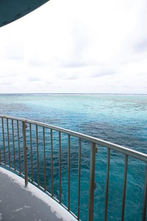 fish eye: Fish eye underwater observation tower
