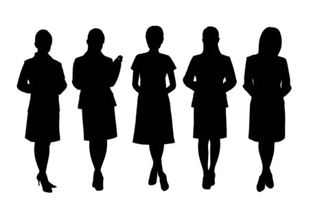 the whole body: Woman silhouette
