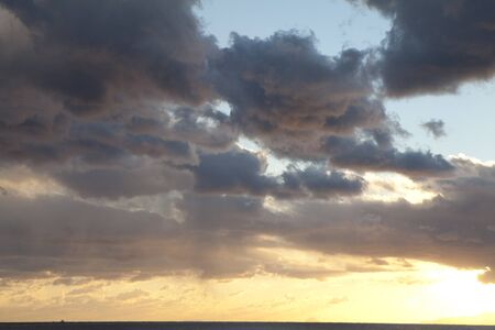 pacific ocean: Sunsets over the Pacific Ocean