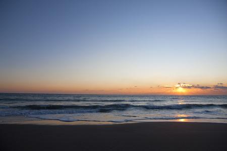 amanecer: Sol matutino.