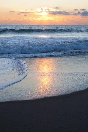 quietude: Morning sun. Stock Photo