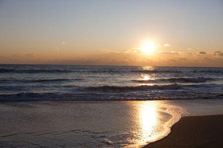borrowed: Morning sun. Stock Photo