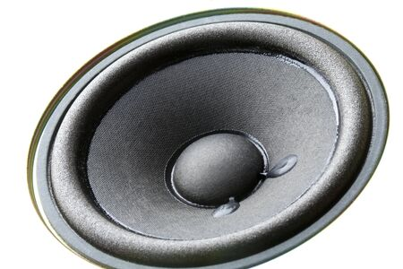 woofer: Speakers Stock Photo