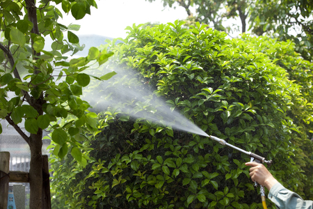 Chemical spraying