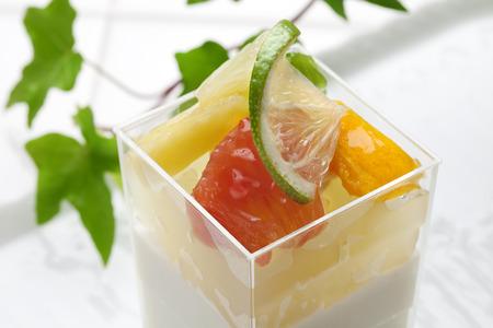 valencia orange: Yuzu flavor of cupcake