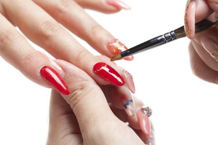 nailcare: Nail care Nail Salon Stock Photo