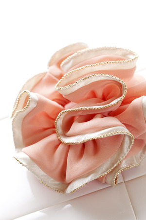 scrunchie: Beaded cloth products hair clamp scrunchie