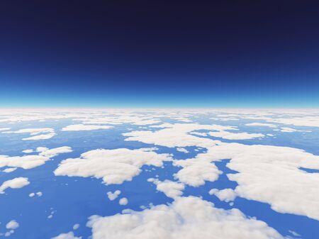 atmosfera: La atm�sfera y las nubes