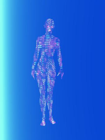 specimen: Electronic specimen Stock Photo