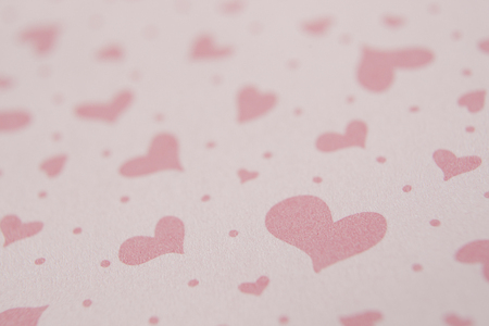 heart suite: Heart pattern paper Stock Photo