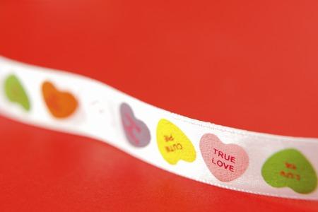 heart suite: Hearts pattern Ribbon