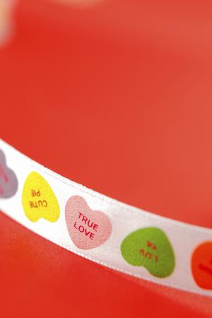 Hearts pattern Ribbon