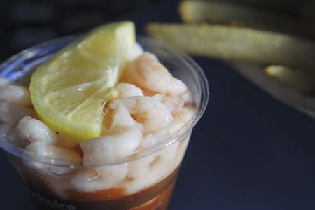 shrimp cocktail: Shrimp cocktail