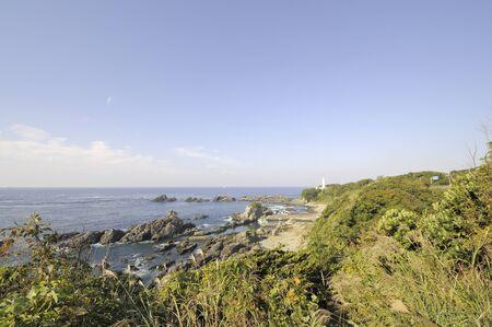 honshu: Honshu southernmost Shionomisaki lighthouse Stock Photo
