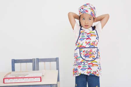 bandana girl: Girl wearing bandana Stock Photo