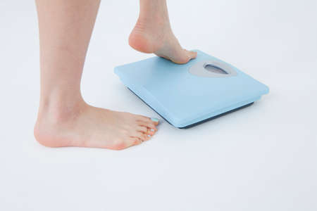 That measure the weight women feet photo