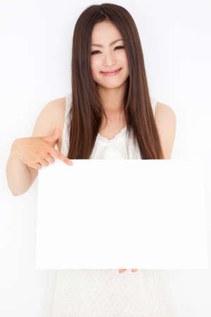 Women have a message board photo