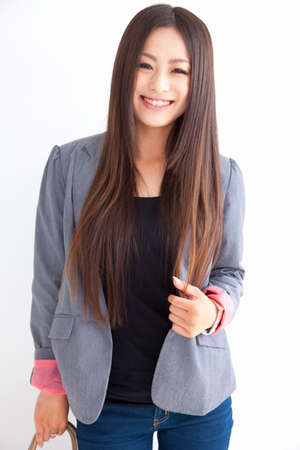 College Girl smile