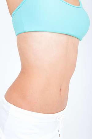 abdomen female: Female belly