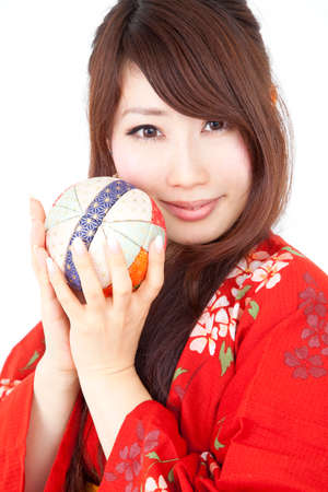 get dressed: Women yukata have Mariya