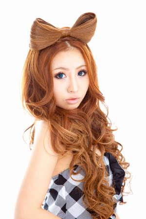 asian style: Ladies hair Ribbon