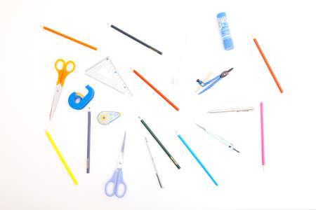 ball pens stationery: Papeler?a Foto de archivo