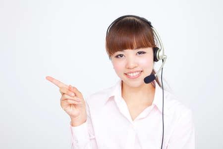 ol: OL wearing headset